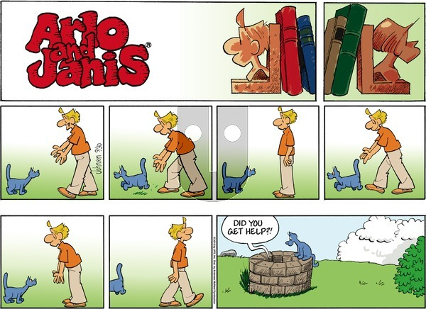Arlo and Janis on Sunday September 30, 2018 Comic Strip