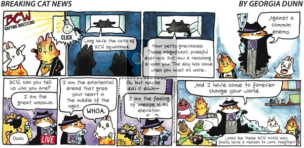 Breaking Cat News - Sunday April 5, 2020 Comic Strip