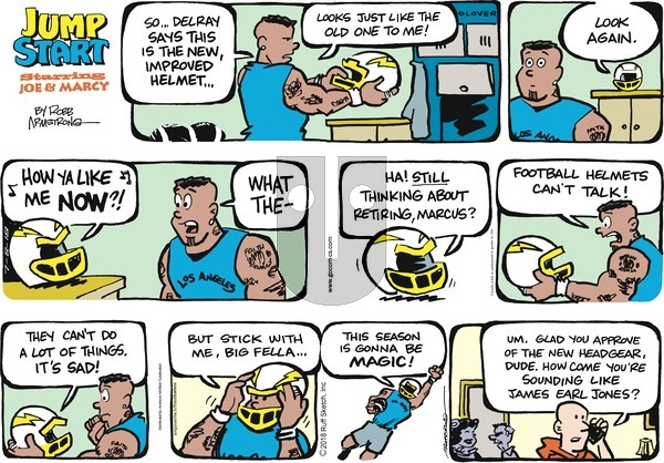 JumpStart on Sunday July 8, 2018 Comic Strip