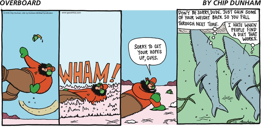 Overboard Comic Strip for January 13, 2019