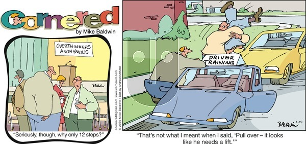 Cornered on Sunday January 19, 2020 Comic Strip