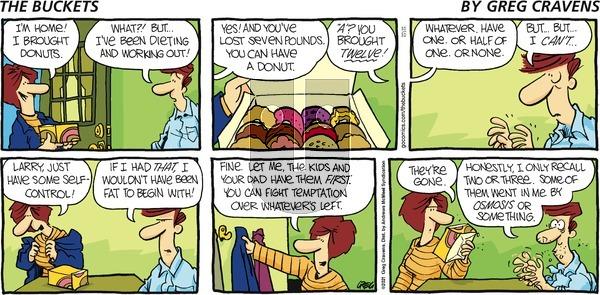 The Buckets on Sunday October 10, 2021 Comic Strip