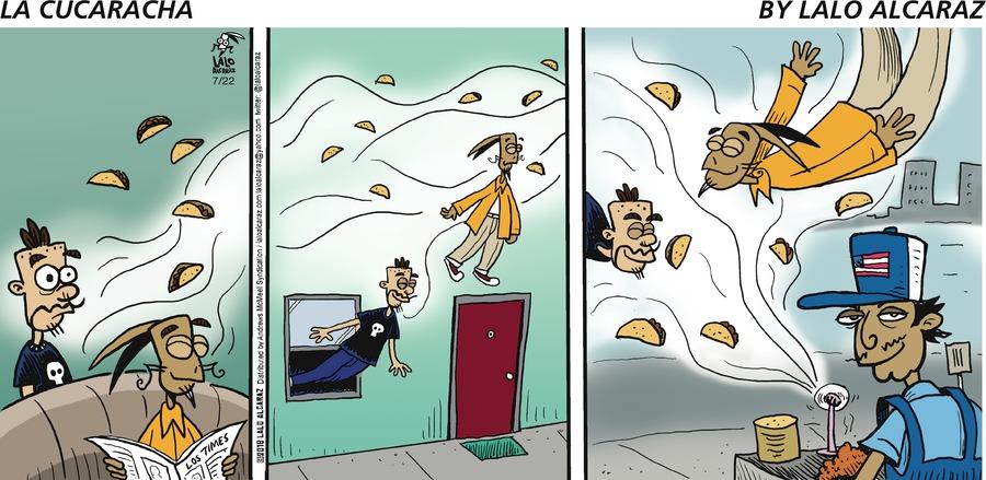 La Cucaracha for Jul 22, 2018 Comic Strip