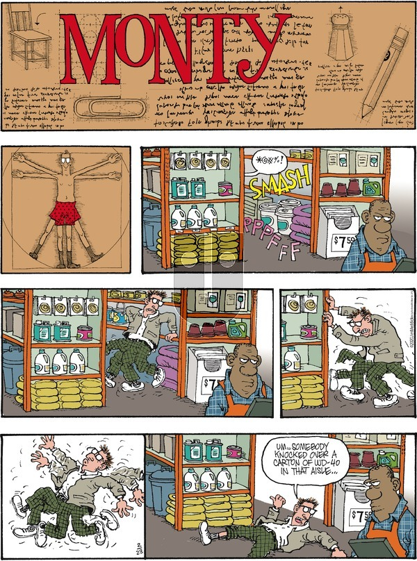 Monty on Sunday February 23, 2020 Comic Strip