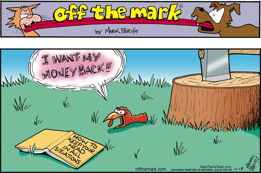 Off the Mark Comic Strip for November 18, 2012