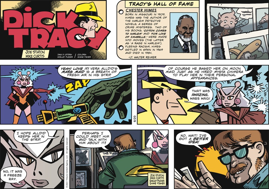Dick Tracy Comic Strip for June 20, 2021