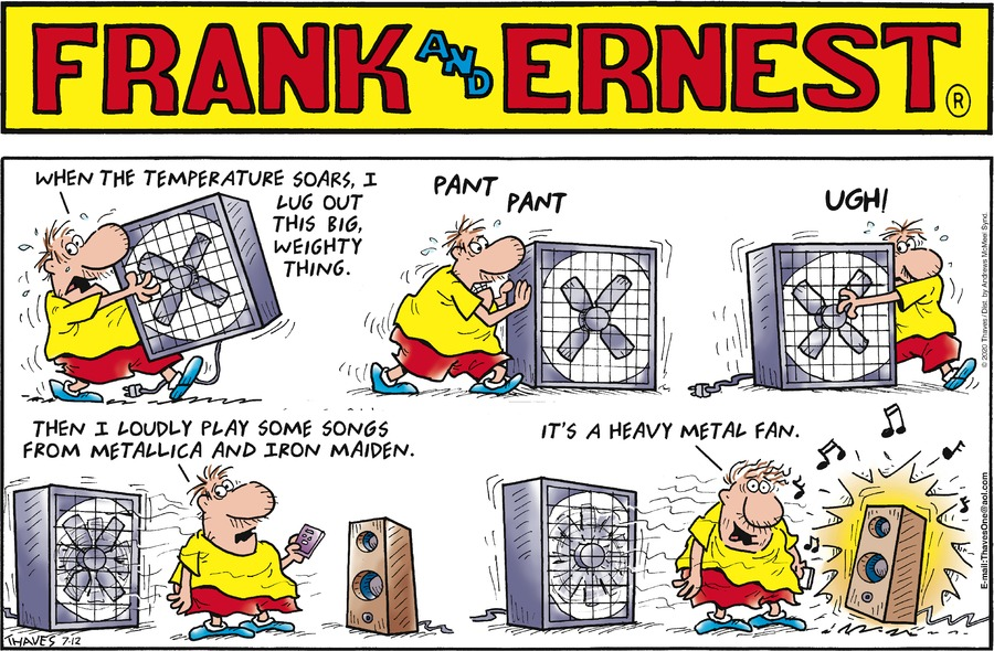 Frank and Ernest Comic Strip for July 12, 2020