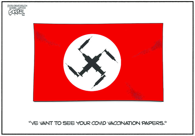 Bob Gorrell Comic Strip for March 30, 2021