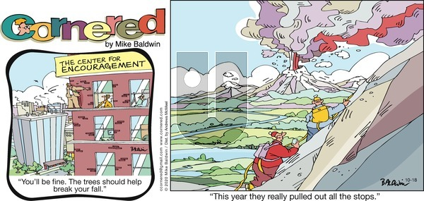 Cornered on Sunday October 18, 2020 Comic Strip