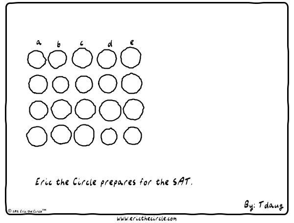 Eric the Circle for Jan 15, 2013 Comic Strip