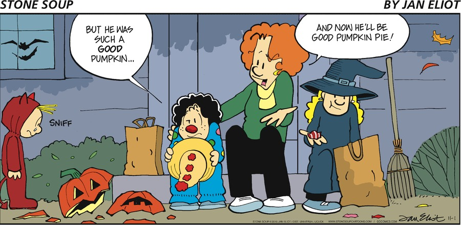 Stone Soup Comic Strip for November 01, 2015