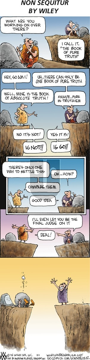Non Sequitur on Sunday August 4, 2019 Comic Strip