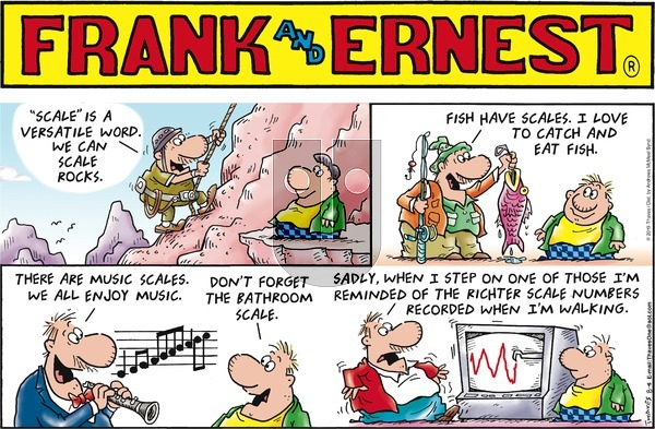 Frank and Ernest on Sunday August 4, 2019 Comic Strip