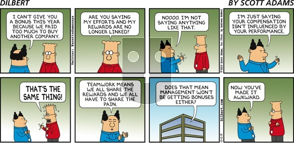 Dilbert on Sunday October 13, 2019 Comic Strip