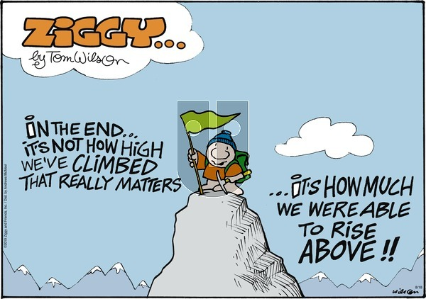 Ziggy on Sunday August 18, 2019 Comic Strip