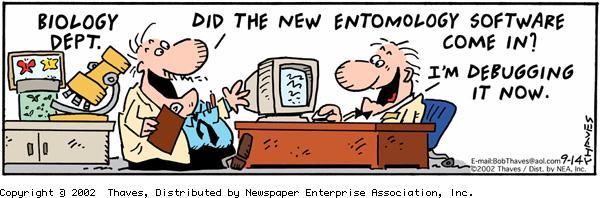 Frank and Ernest Comic Strip for September 14, 2002