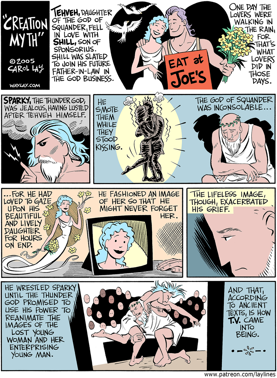 Lay Lines Comic Strip for June 27, 2016