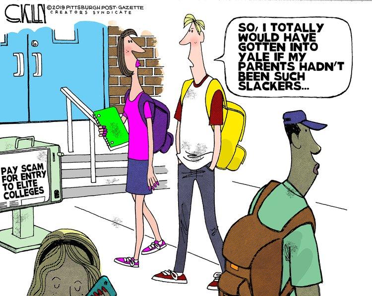 Steve Kelley Comic Strip for March 14, 2019