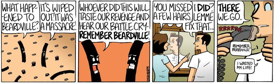 Beardo for Feb 22, 2013 Comic Strip