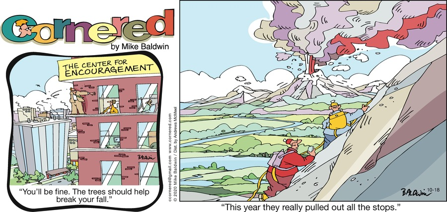 Cornered Comic Strip for October 18, 2020