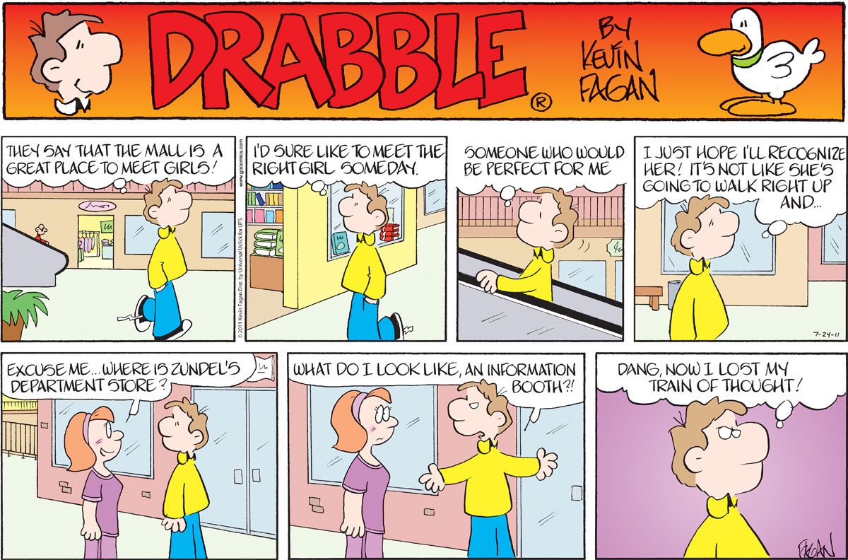 Drabble for Jul 24, 2011 Comic Strip