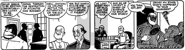 Alley Oop on Friday May 31, 1946 Comic Strip