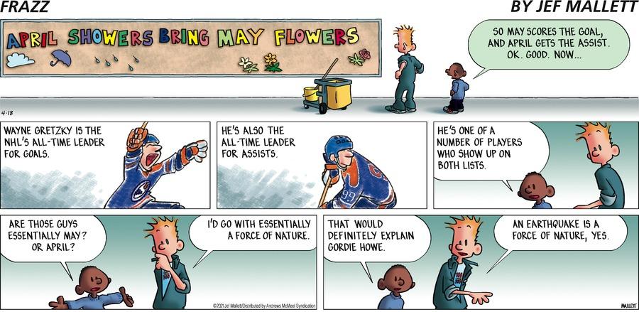 Frazz Comic Strip for April 18, 2021