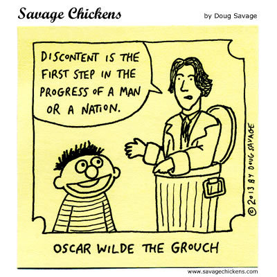 Oscar Wilde the Grouch
