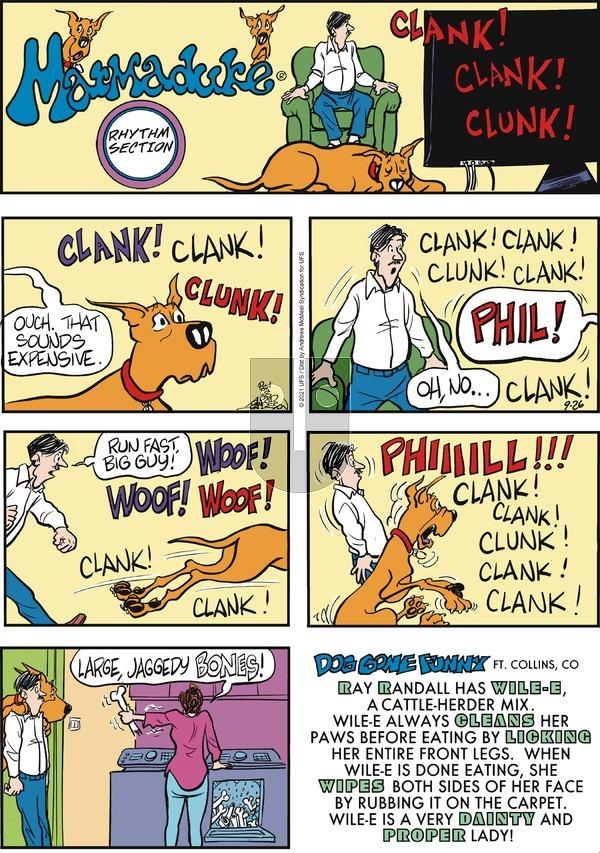 Marmaduke on Sunday September 26, 2021 Comic Strip