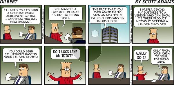 Dilbert on Sunday June 13, 2021 Comic Strip