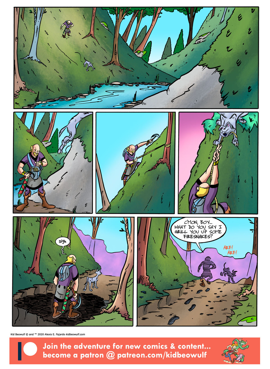 Kid Beowulf Comic Strip for January 15, 2020