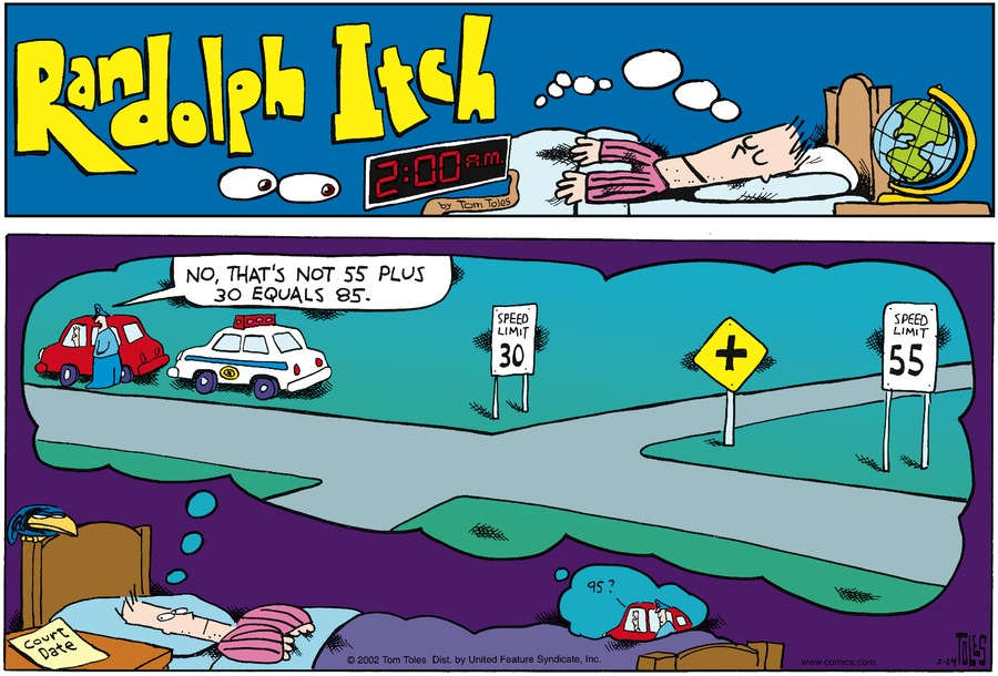 Randolph Itch, 2 a.m. Comic Strip for November 26, 2017