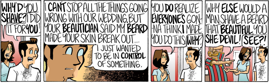 Beardo for Feb 21, 2013 Comic Strip