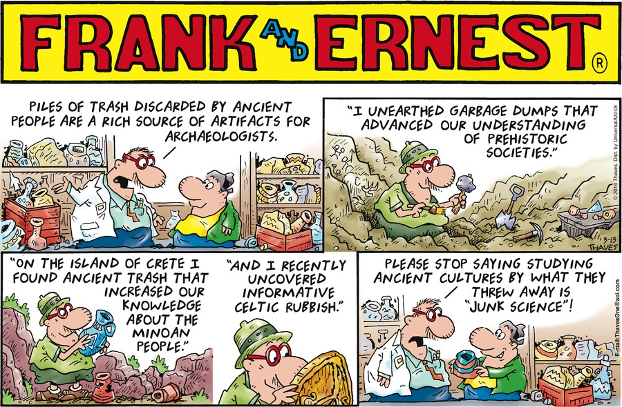 Frank and Ernest Comic Strip for March 13, 2016