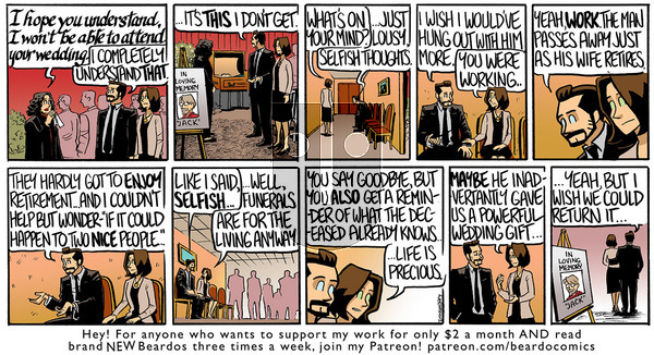 Beardo - Monday November 30, 2020 Comic Strip
