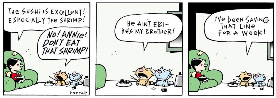 Ten Cats Comic Strip for June 04, 2016