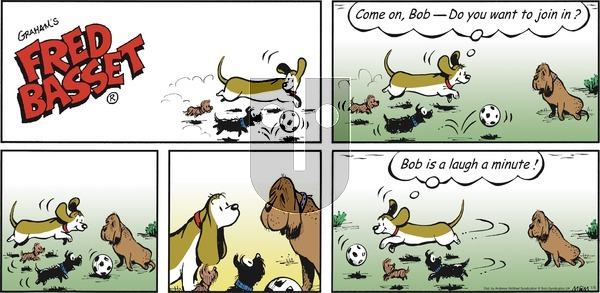 Fred Basset on Sunday January 5, 2020 Comic Strip
