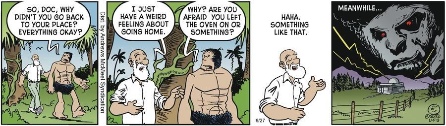 Alley Oop Comic Strip for June 27, 2020