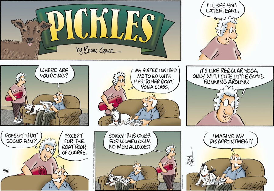 Pickles Comic Strip for February 16, 2020