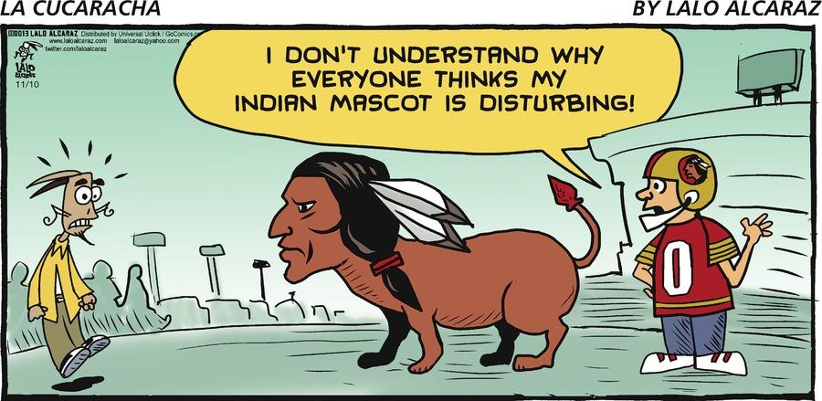 La Cucaracha for Nov 10, 2013 Comic Strip