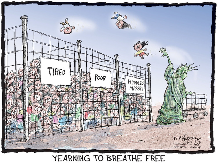 Nick Anderson Comic Strip for June 19, 2018