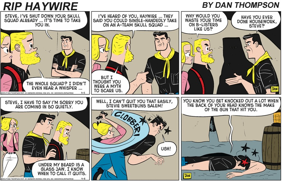 Rip Haywire by Dan Thompson on Sun, 28 Jun 2020