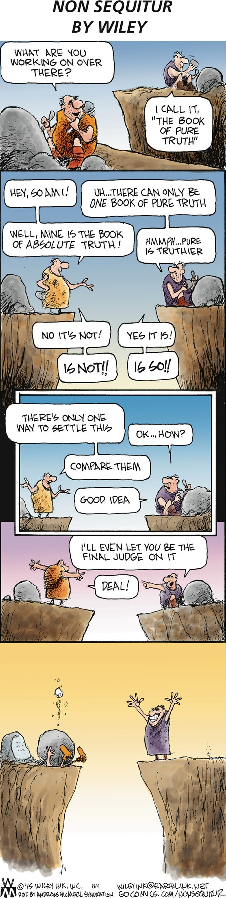 Non Sequitur Comic Strip for August 04, 2019