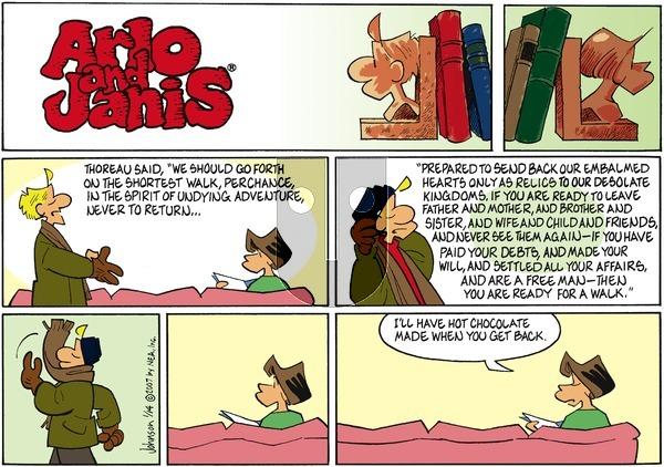 Arlo and Janis on Sunday January 14, 2007 Comic Strip