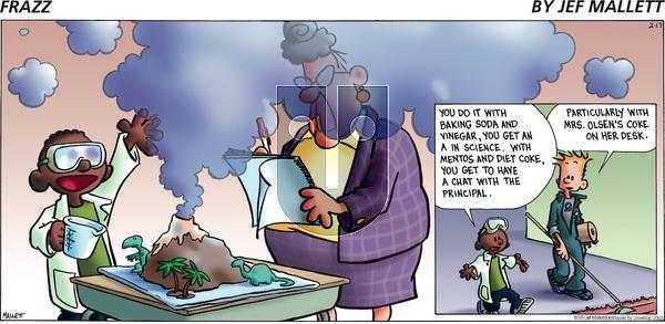 Frazz on Sunday February 17, 2013 Comic Strip