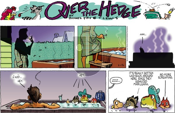 Over the Hedge on Sunday January 12, 2020 Comic Strip