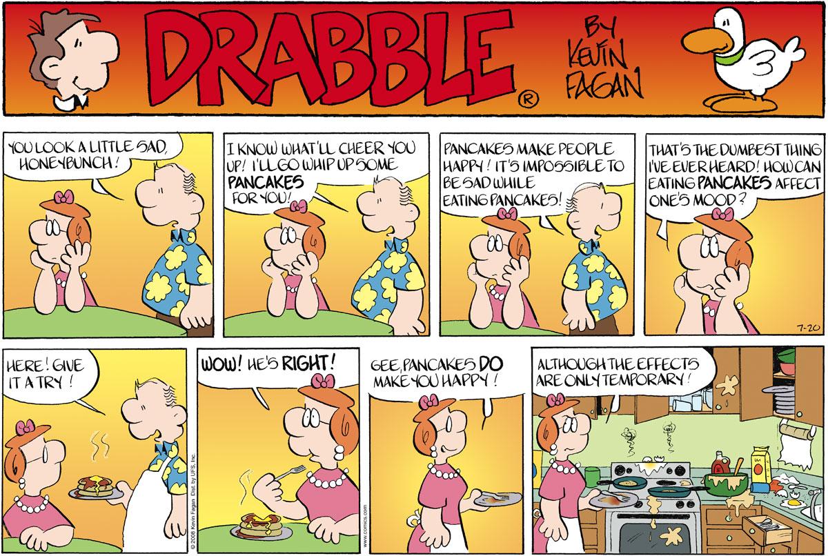 Drabble for Jul 20, 2008 Comic Strip