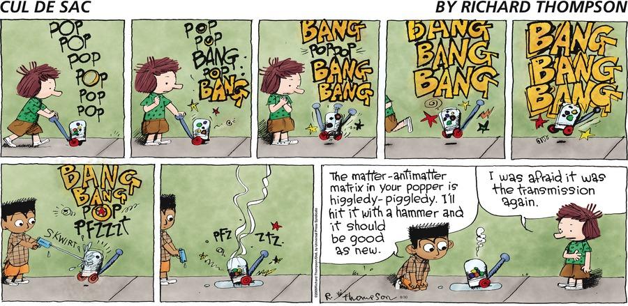 Cul de Sac for Aug 30, 2009 Comic Strip