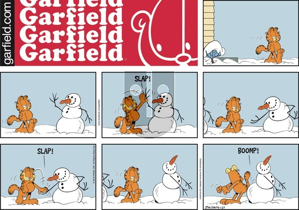 Garfield on Sunday January 27, 2019 Comic Strip