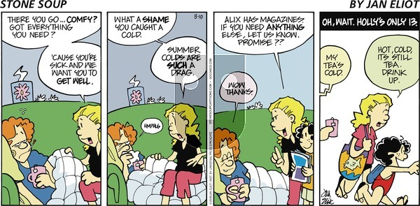 Stone Soup on Sunday August 10, 2008 Comic Strip